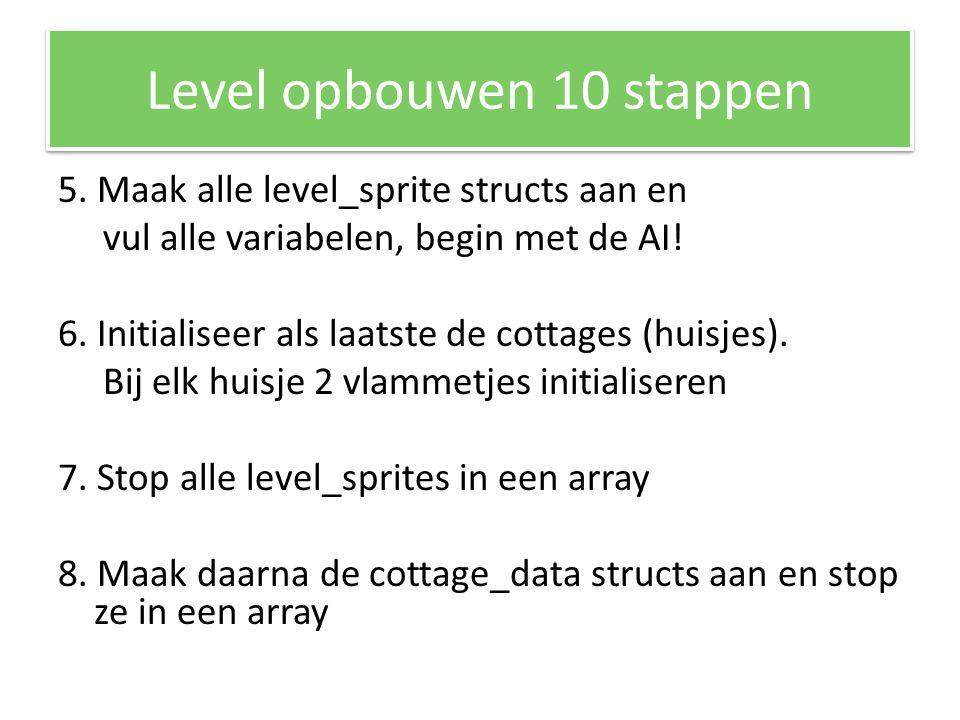 Level opbouwen 10 stappen 5.