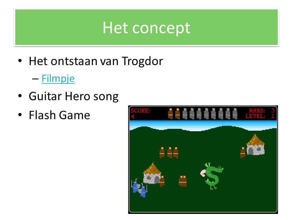 Het concept Het ontstaan van Trogdor – Filmpje Filmpje Guitar Hero song Flash Game