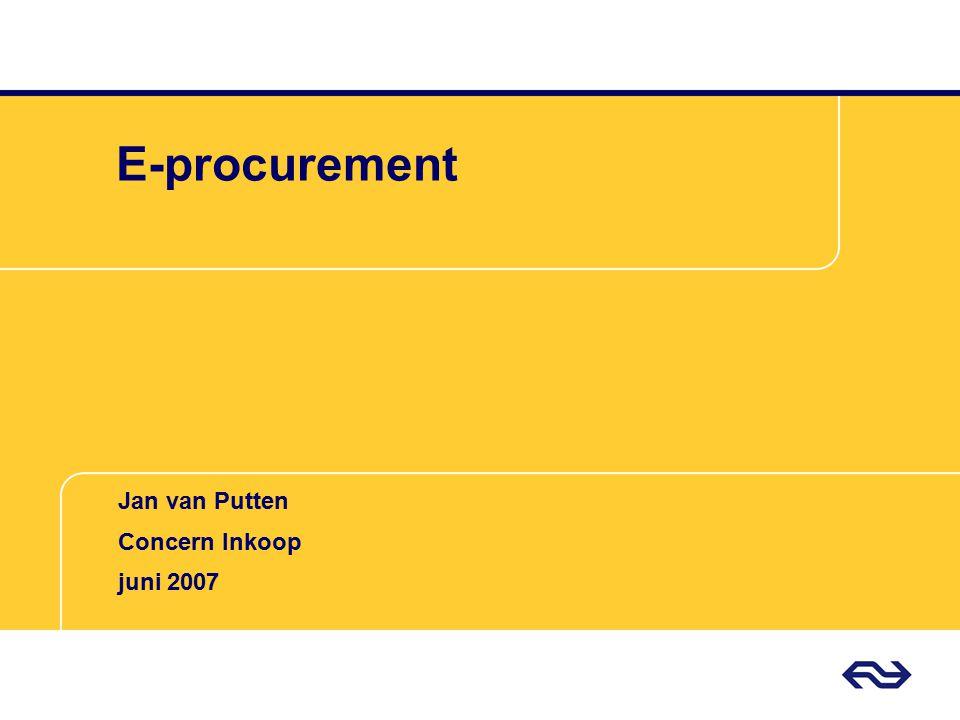 Jan van Putten Concern Inkoop NS De trein is (véél) schoner dan de auto spits