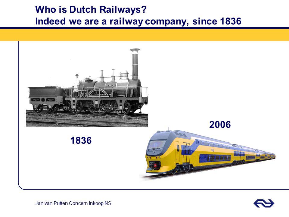 Jan van Putten Concern Inkoop NS Who is Dutch Railways.