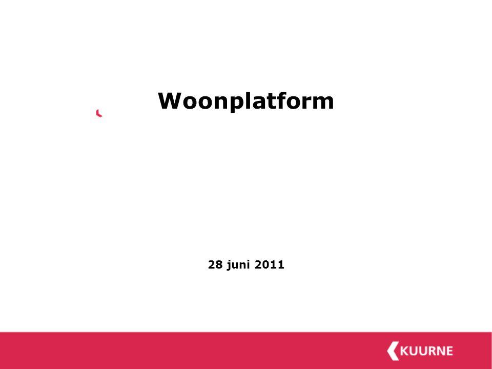 Woonplatform 28 juni 2011