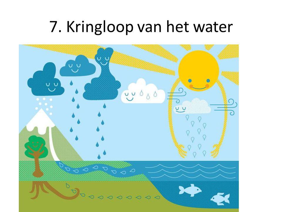 7. Kringloop van het water