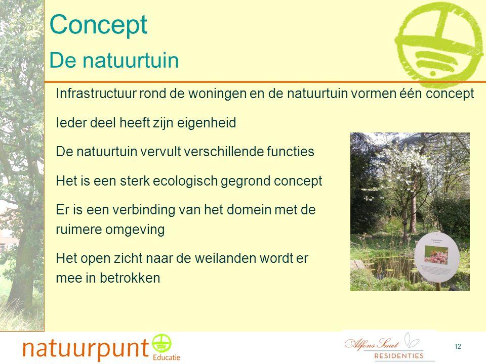 13 Concept Educatieve werking -Het beleven van rust en ruimte -Ontmoeting tussen verschillende doelgroepen -Opzetten van een educatieve werking met vrijwilligers -Voelen, zien en ruiken -Natuurbeleving -Ontdekken -Proeven -Creëren