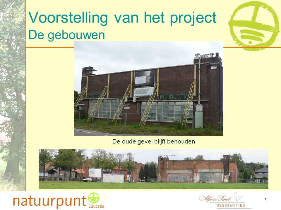 6 Voorstelling van het project Voorstelling van de gebouwen De gebouwen 90-tal serviceflats en 60-tal rusthuisbedden