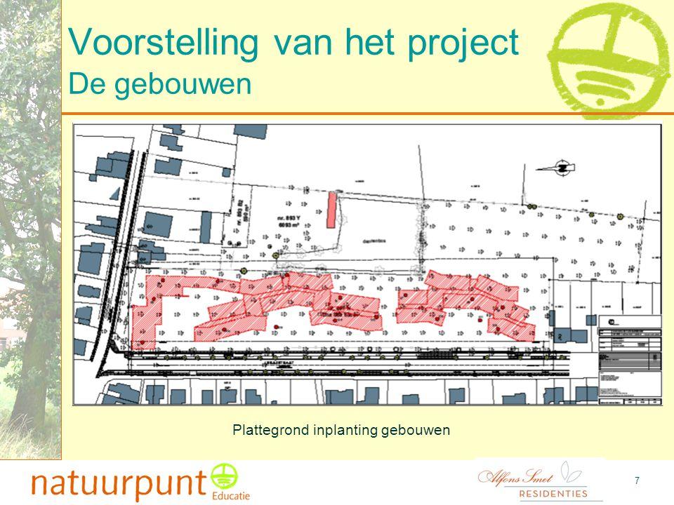 8 Voorstelling van het project De bouwgrond voor de service flats De bouwgrond