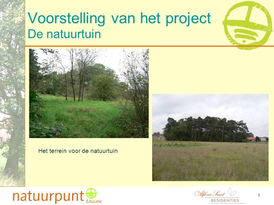 10 Voorstelling van het project Uitzicht naar achteren toe, de weilanden Het uitzicht