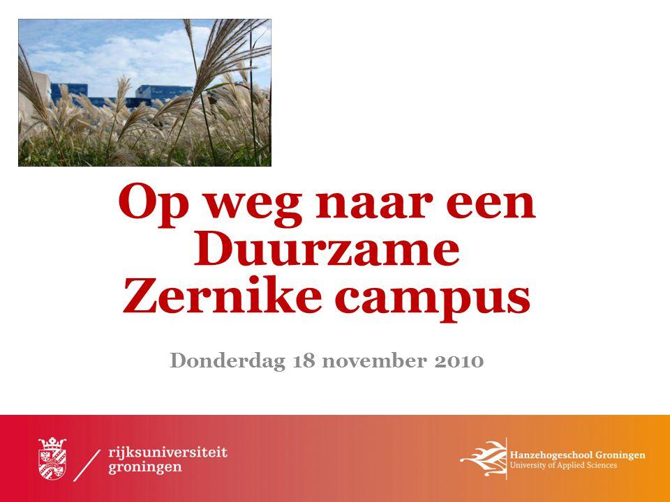 Architecten en onderwijsspecialisten moeten gezamenlijk huisvesting ontwikkelen voor duurzaam onderwijs: student en onderzoeker staan centraal, en dat is nu ook het geval op Zernike.