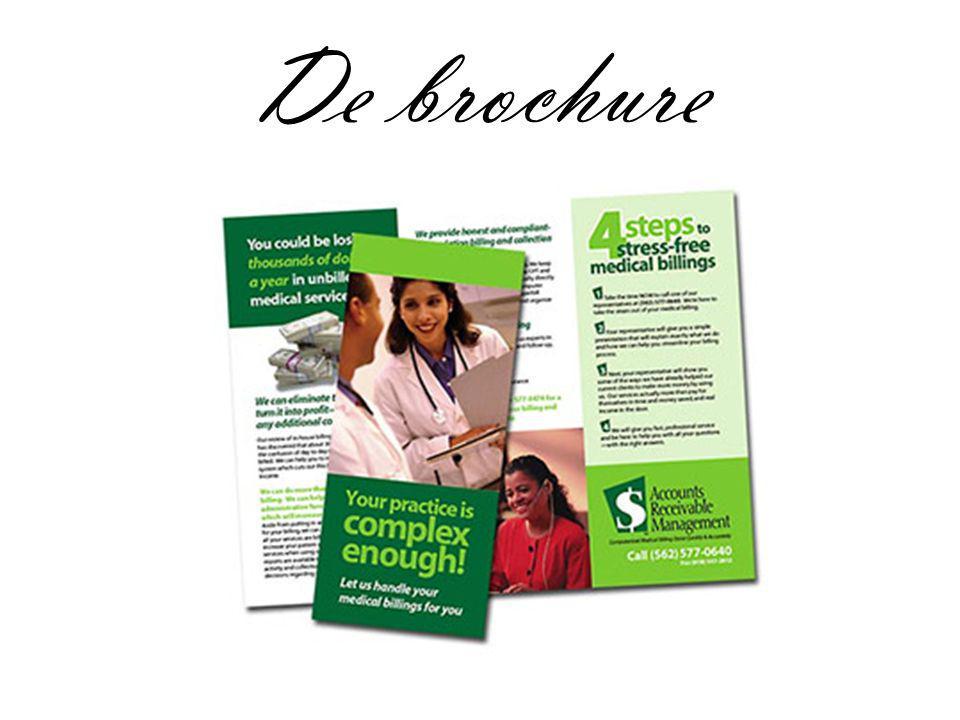 De brochure