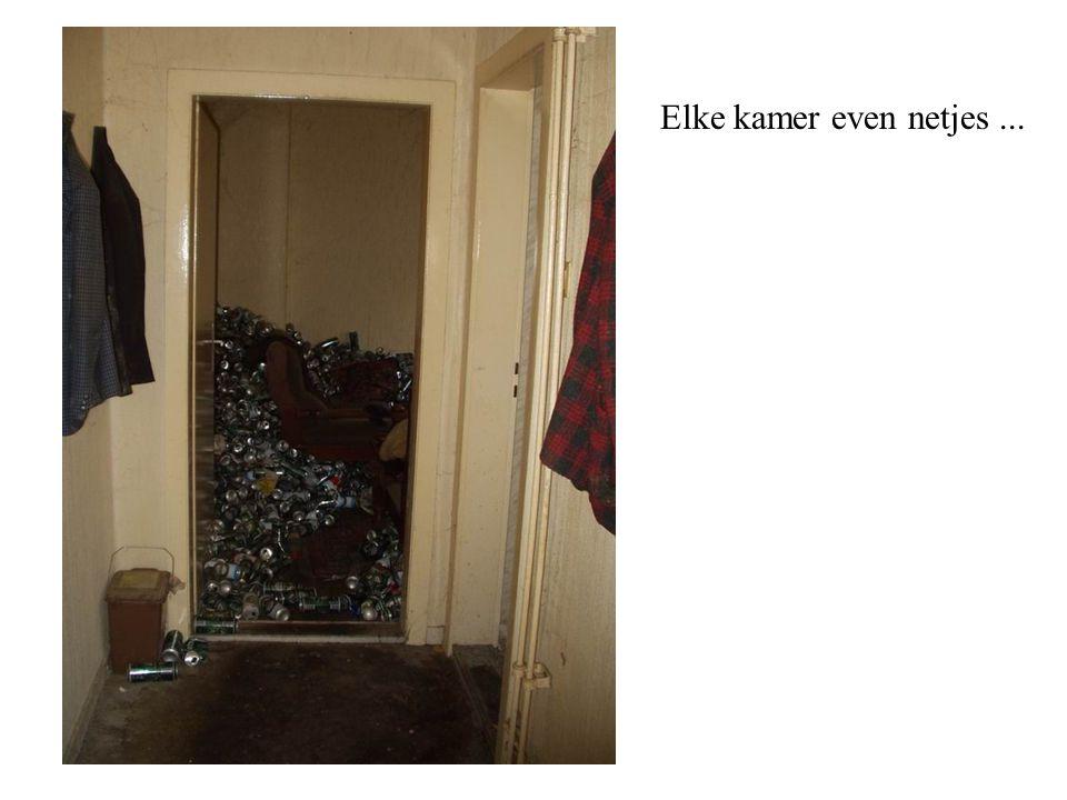 Elke kamer even netjes...