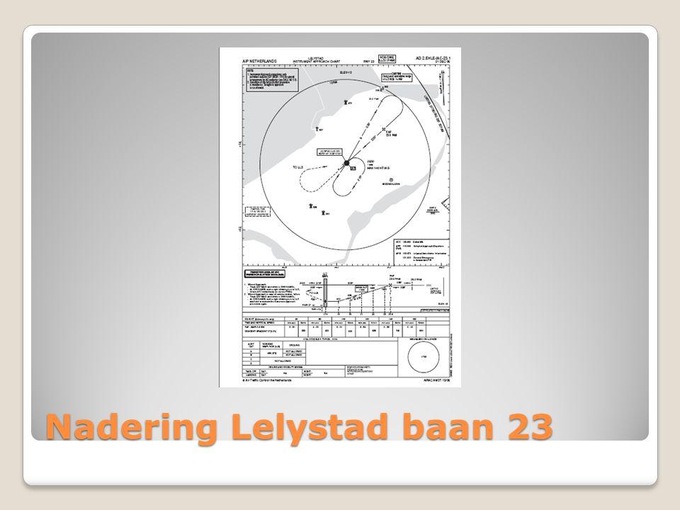 Nadering Lelystad baan 23