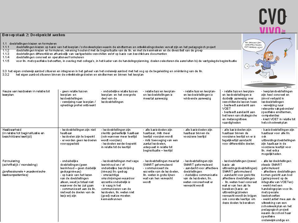 2.2. Assessmentportfolio  Stap 3: selecteren en verantwoorden  Richtlijnen (handleiding):