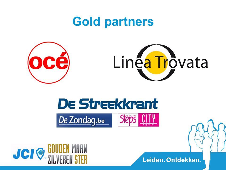 Leiden. Ontdekken. Gold partners