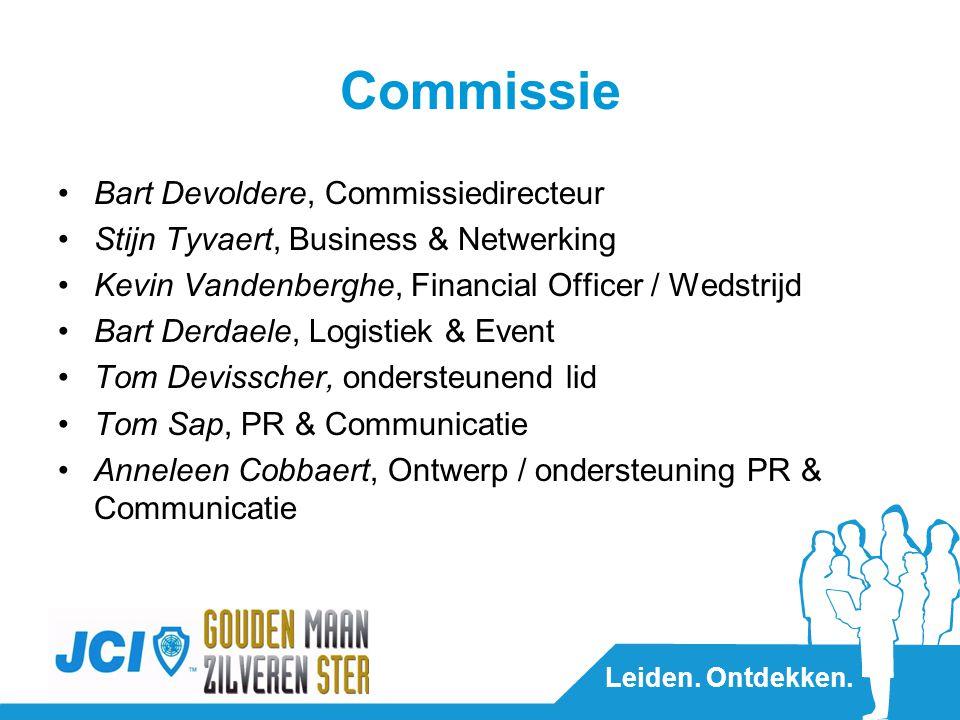 Leiden. Ontdekken. JCI in arrondissement Diksmuide Anke de Groot, Voorzitter JCI Diksmuide
