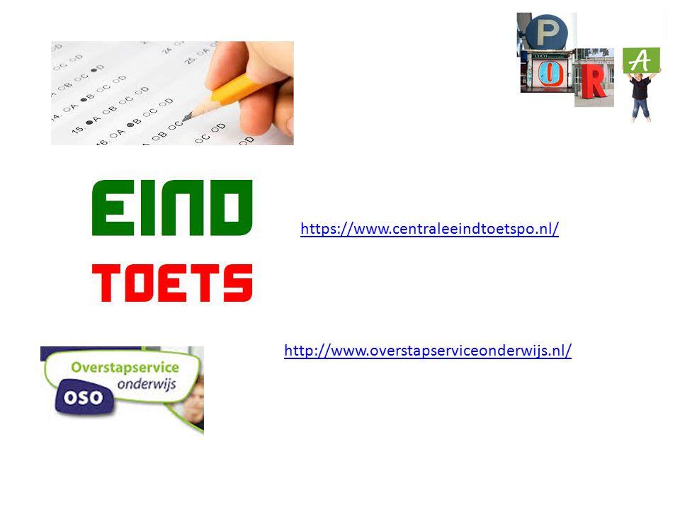 https://www.centraleeindtoetspo.nl/ http://www.overstapserviceonderwijs.nl/