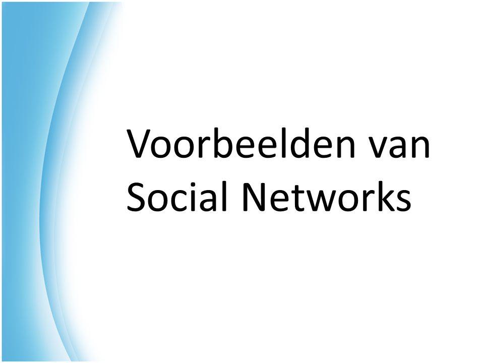 Voorbeelden van Social Networks
