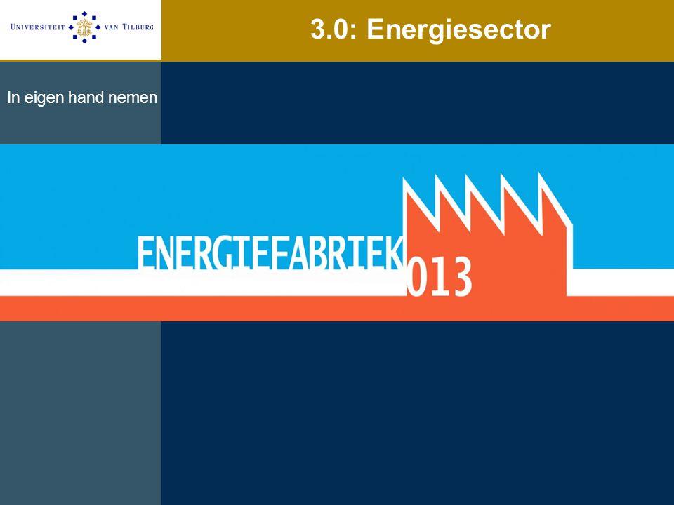 3.0: Energiesector In eigen hand nemen