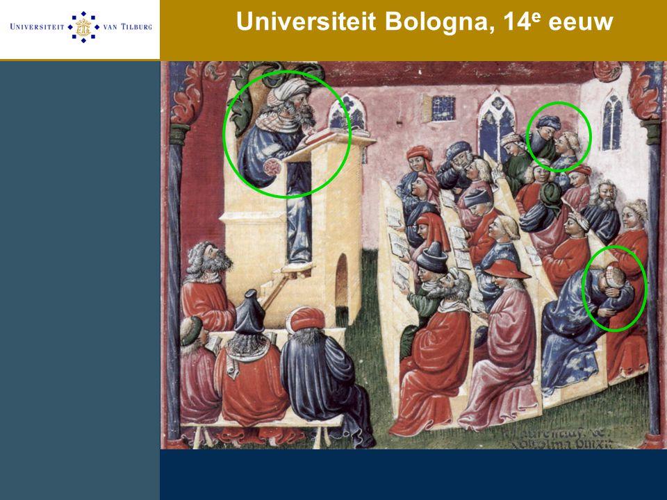 Universiteit Bologna, 14 e eeuw