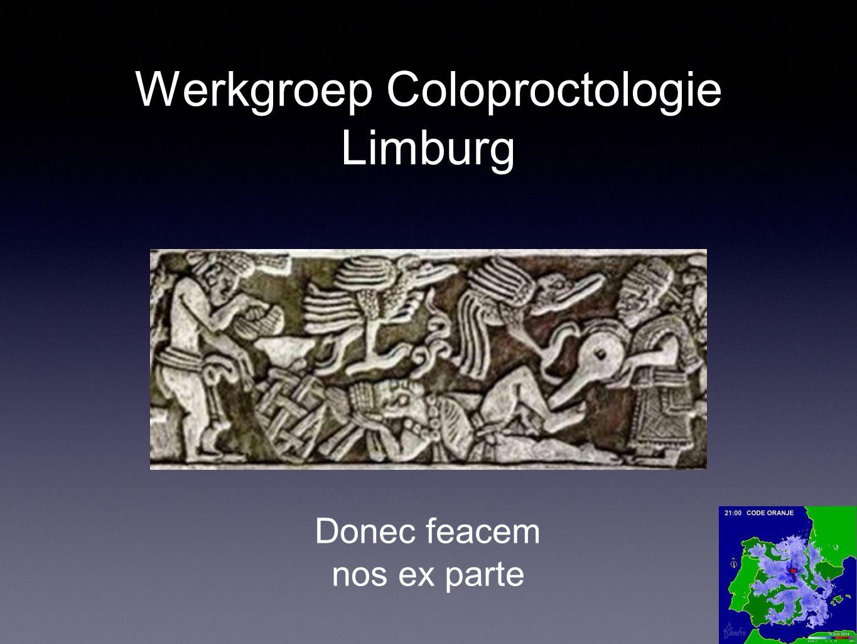 Werkgroep Coloproctologie Limburg Donec feacem nos ex parte