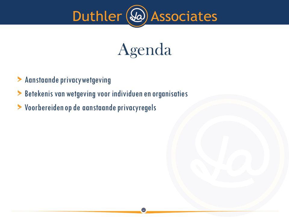 Agenda > Aanstaande privacywetgeving > Betekenis van wetgeving voor individuen en organisaties > Voorbereiden op de aanstaande privacyregels