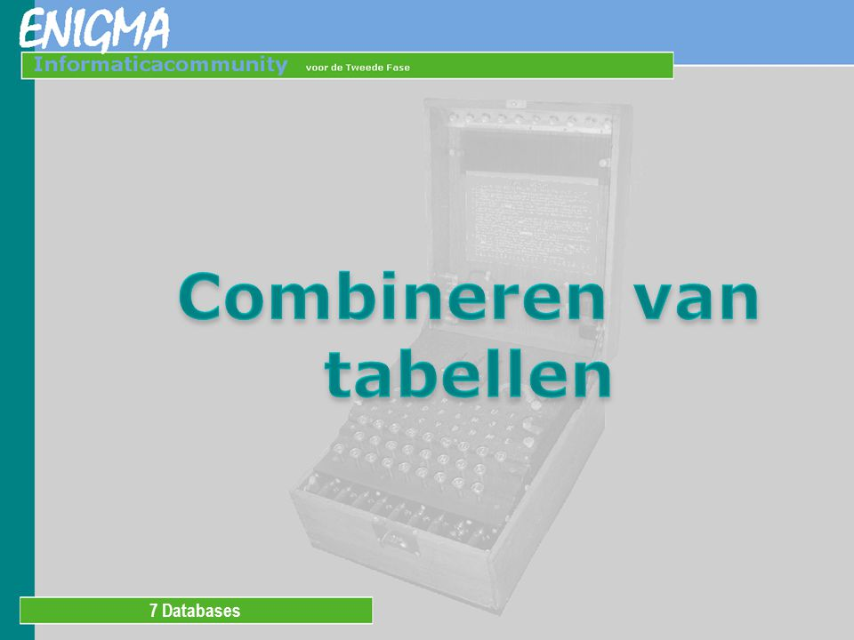 7 Databases