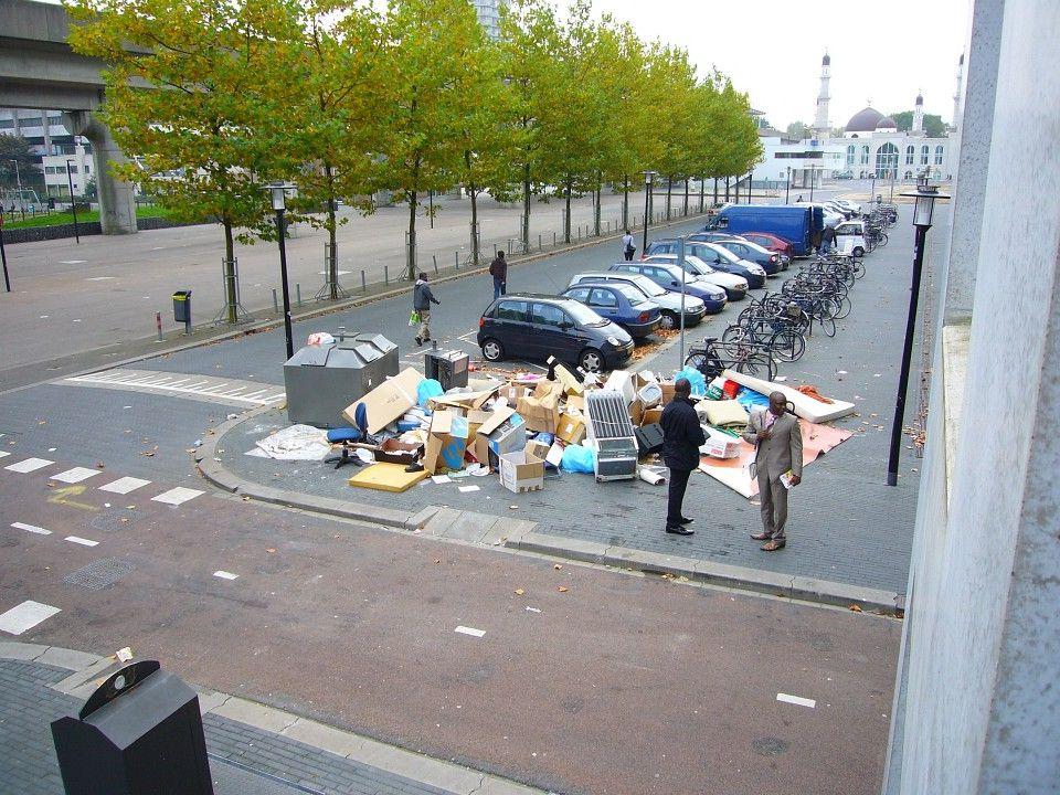 GROFVUIL OFFENSIEF Bewonersvereniging Kikkenstein Henk van de Belt - 2012-02 voor K-buurt schoon.