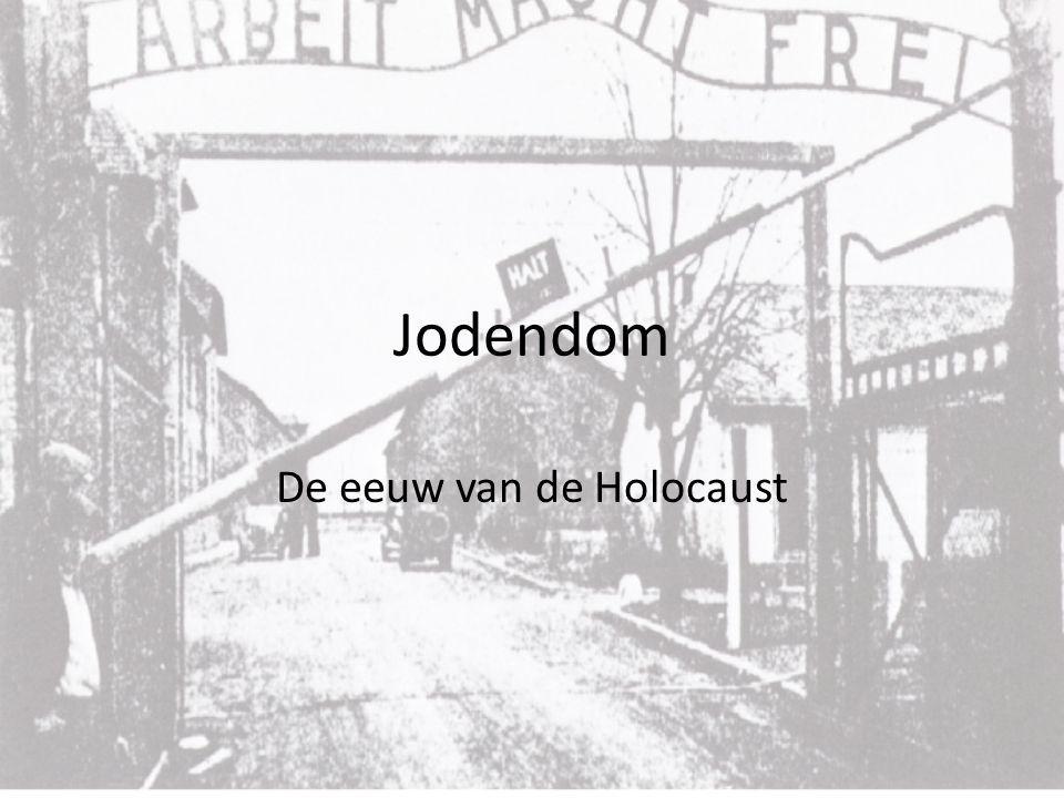 Jodendom De eeuw van de Holocaust
