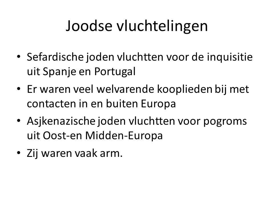 Uit Zuidelijke Nederlanden en Frankrijk Calvinisten vertrokken na de val van Antwerpen uit de Zuidelijke Nederlanden Voor hen was naast het geloof ook de ingestorte economie daar de reden Franse calvinisten werden hugenoten genoemd Zij werden na 1685 in Frankrijk niet meer getolereerd