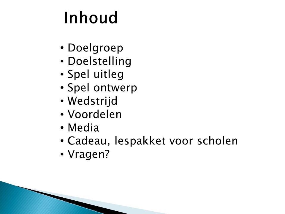 Doelgroep Klassen-groepen van scholen (reserveren) 8 t/m 16 jaar.