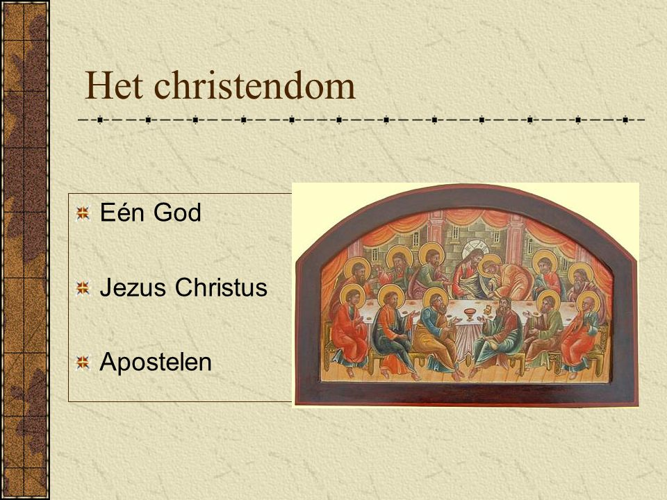 Het christendom Joodse hogepriesters Kruis Opstanding Hemelvaart