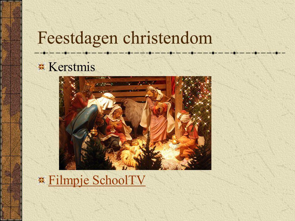 Feestdagen christendom Kerstmis Filmpje SchoolTV