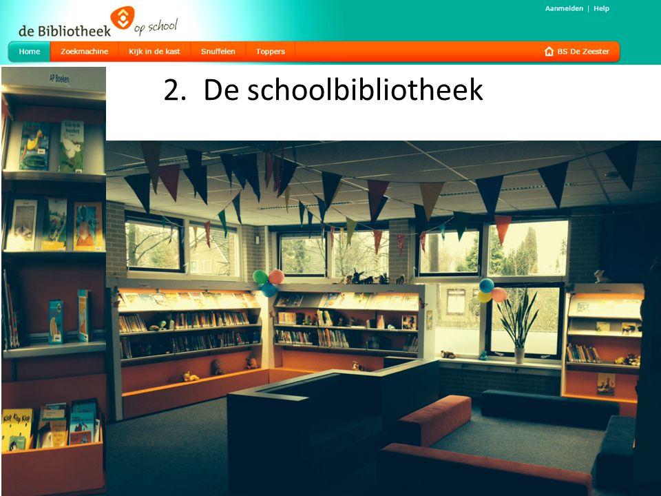 2. De schoolbibliotheek