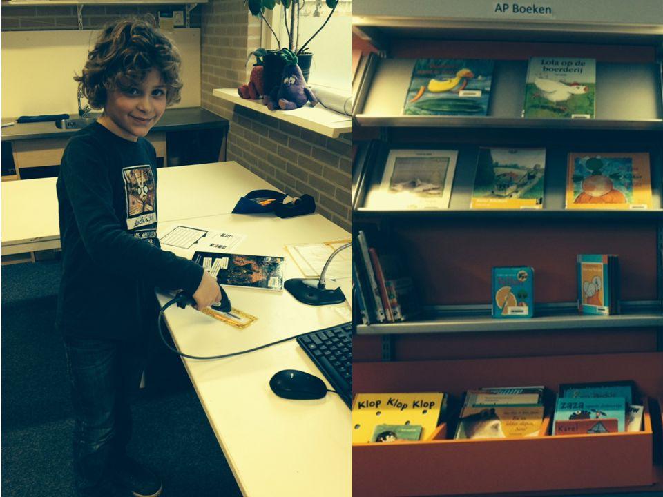 6. Een kijkje in de schoolbibliotheek