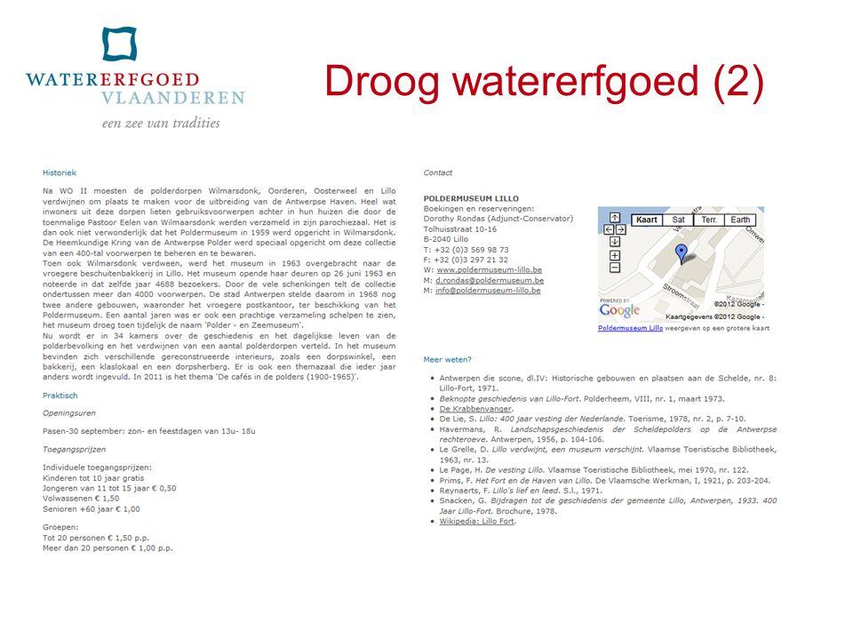 Droog watererfgoed (2)