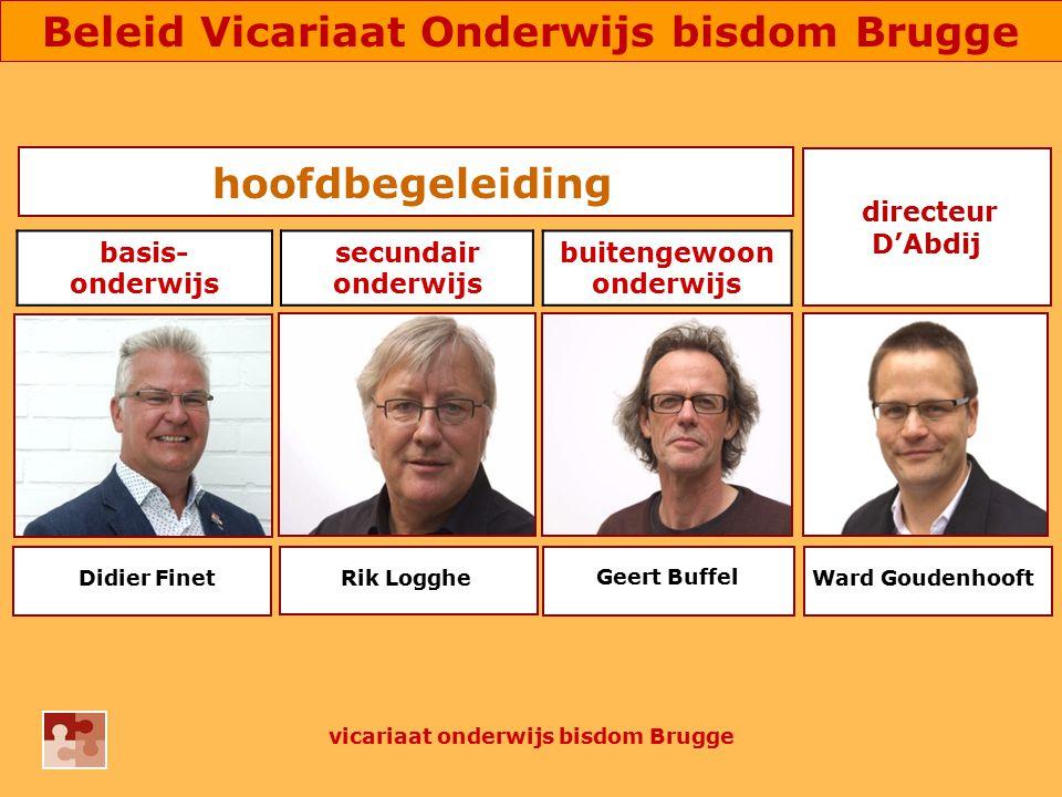 hoofdbegeleiding Geert Buffel Ward Goudenhooft directeur D'Abdij Didier FinetRik Logghe basis- onderwijs secundair onderwijs buitengewoon onderwijs vi