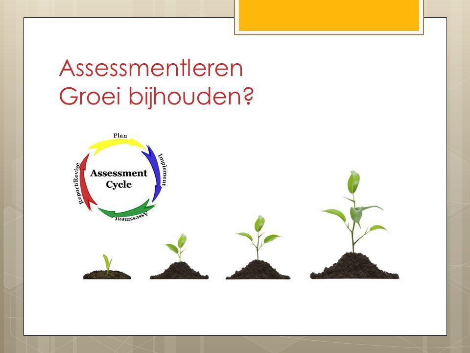 Assessmentleren Groei bijhouden?