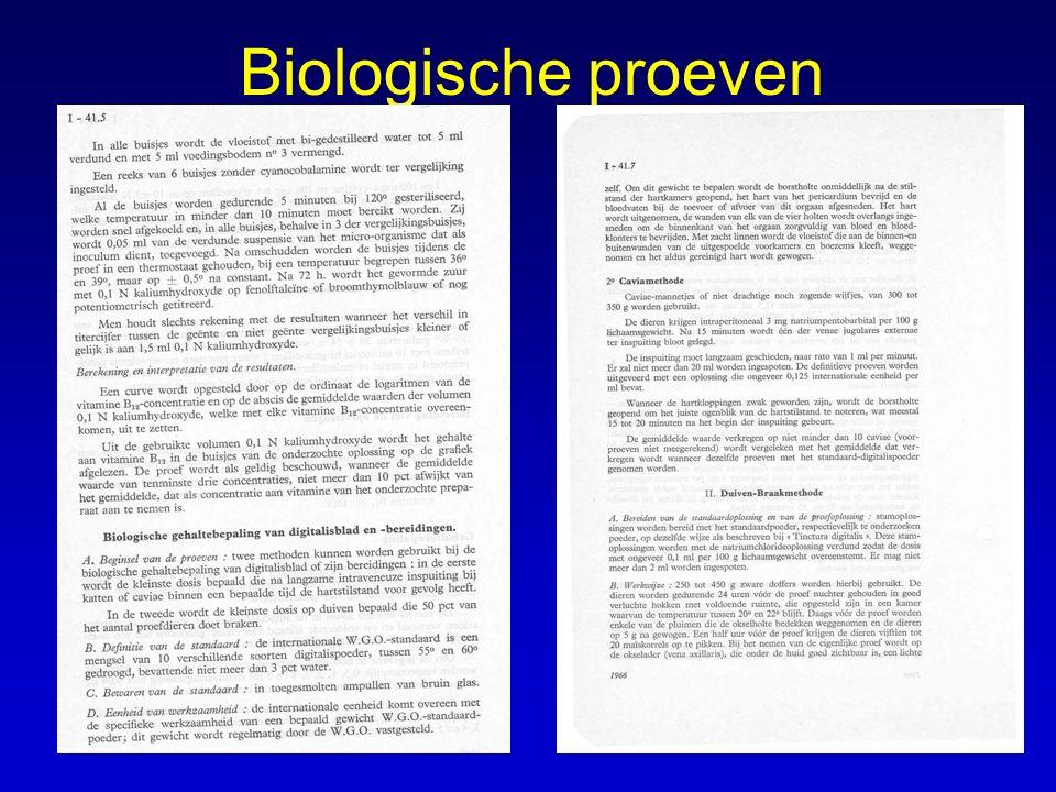 Biologische proeven