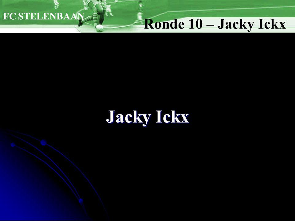 Jacky Ickx FC STELENBAAN Ronde 10 – Jacky Ickx