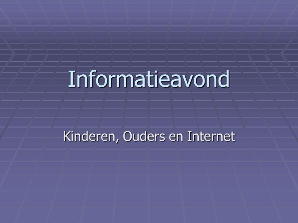 Informatieavond Kinderen, Ouders en Internet
