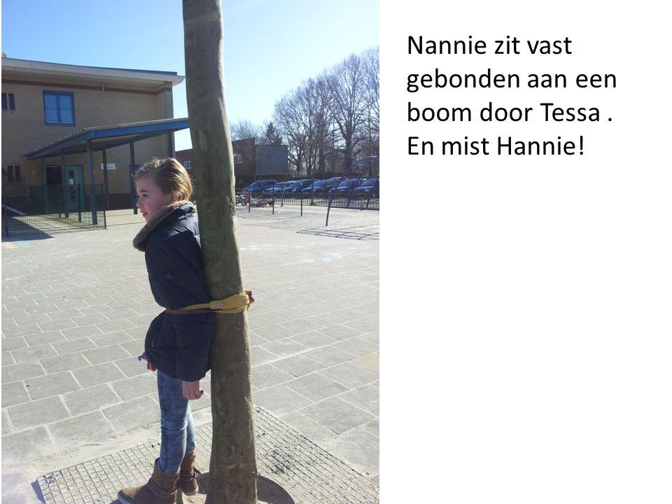 Tessa baalt ervan dat Hannie en Nannie zijn ontsnapt.
