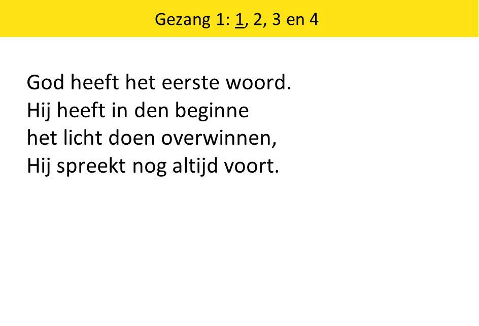 Uw wil geschiede (bij zondag 49) Bron: Hij rekent met genade Tekst: Jan van den Brink Melodie: Psalm 40