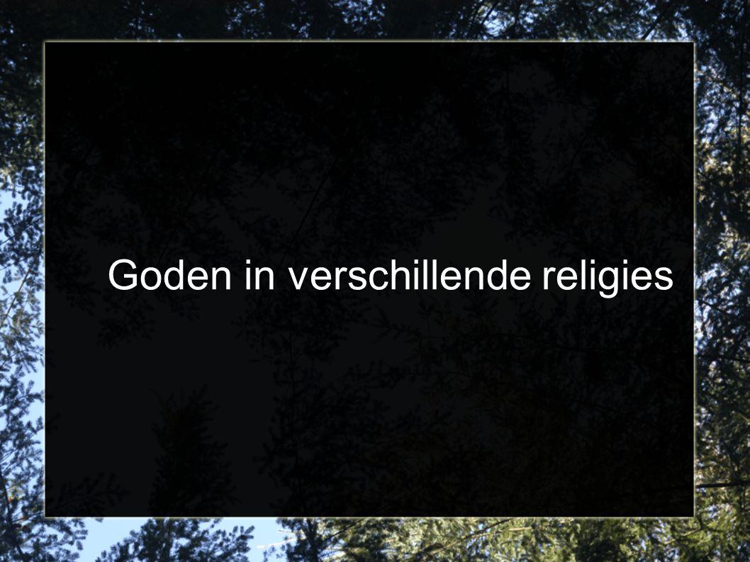 Goden in verschillende religies