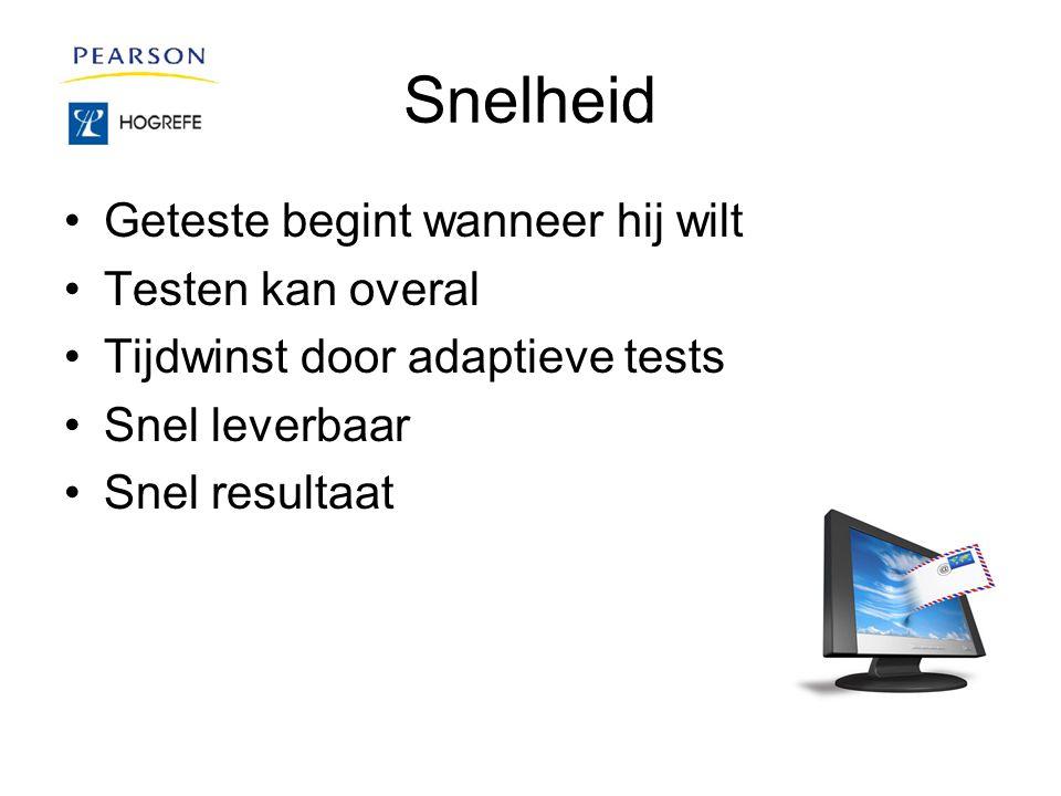 Conclusie Sommige tests kunnen niet digitaal, maar daar waar mogelijk zijn digitale tests het betere alternatief voor een testafname.
