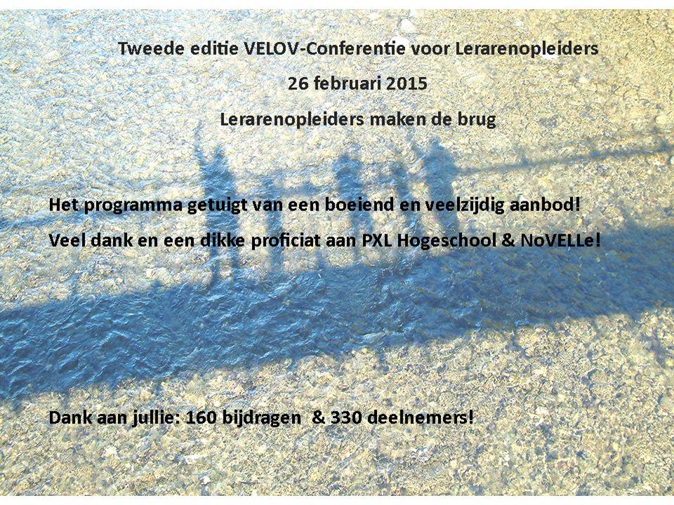info@velov.euwww.velov.eu Project 'De lerende lerarenopleider' Inventariseren van de bestaande opleidingsinitiatieven voor en professionaliseringsnoden van lerarenopleiders in Vlaanderen + aanbevelingen overheid en instellingen Rapport januari 2015 beschikbaar via VELOV-website