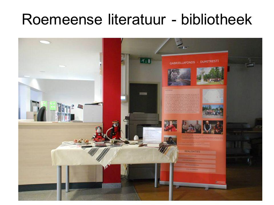 Roemeense literatuur - bibliotheek