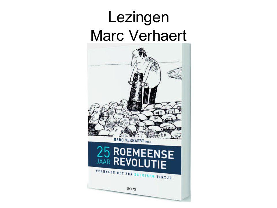 Lezingen Marc Verhaert