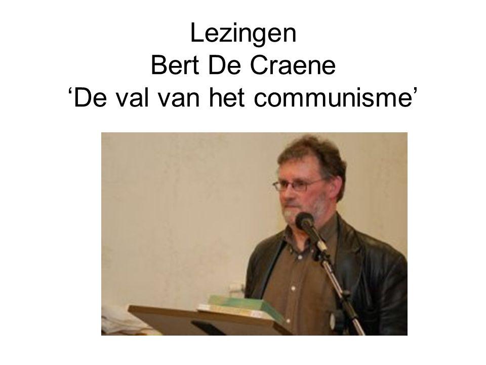 Lezingen Bert De Craene 'De val van het communisme'