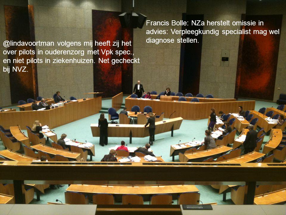 30 maart 2015Verpleegkundigen & Verzorgenden Nederland30 maart 2015Verpleegkundigen & Verzorgenden Nederland Netwerken Francis Bolle: NZa herstelt omi