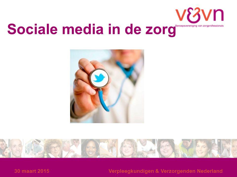 30 maart 2015Verpleegkundigen & Verzorgenden Nederland