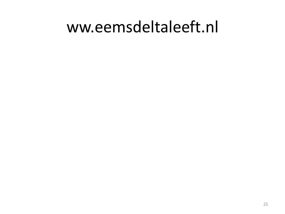 ww.eemsdeltaleeft.nl 25