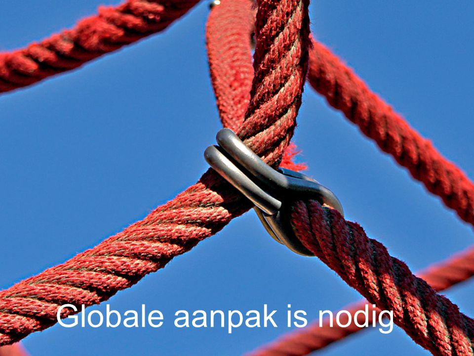 Globale aanpak is nodig